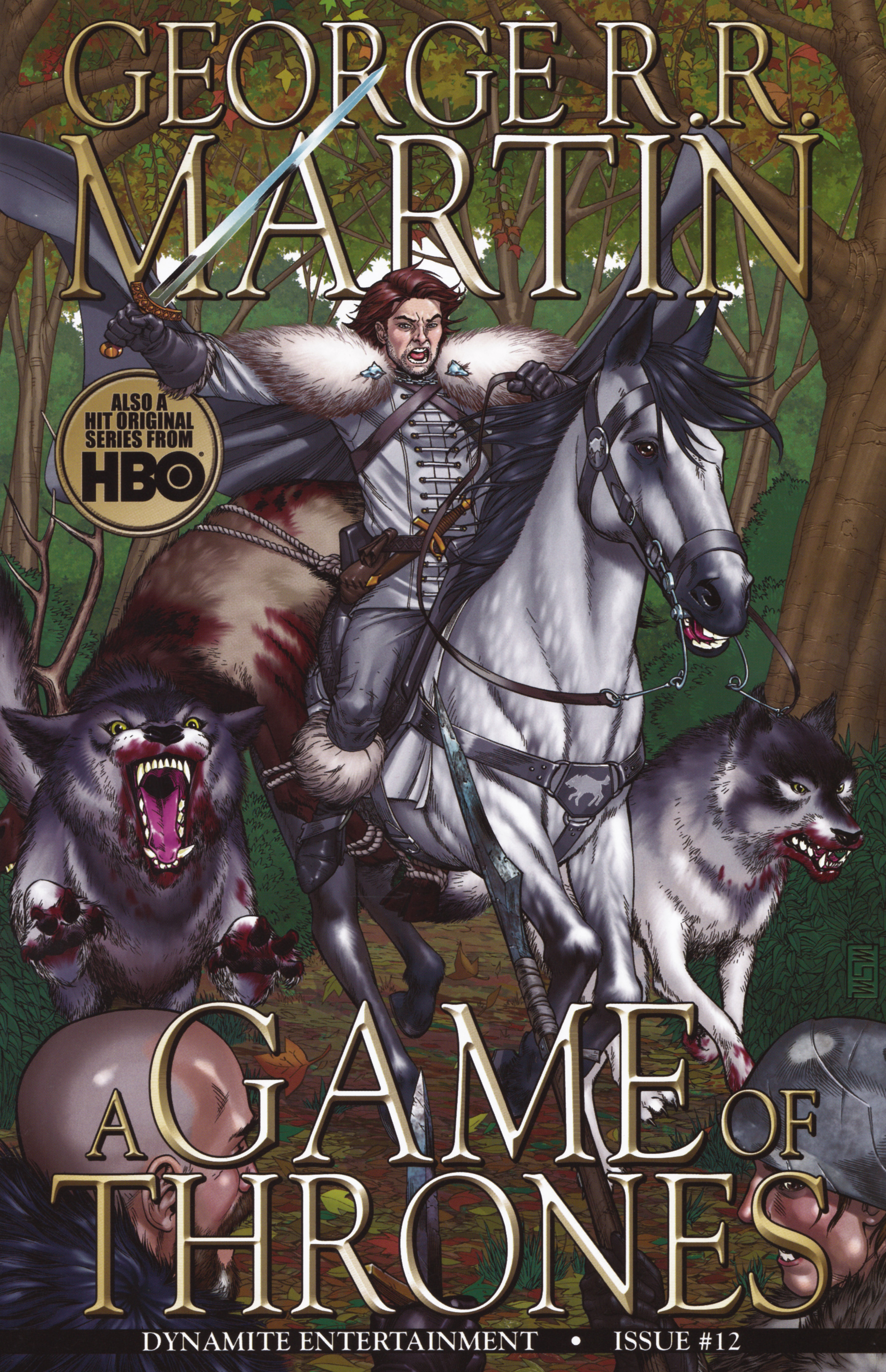 Read online A Game Of Thrones comic -  Issue #12 - 1