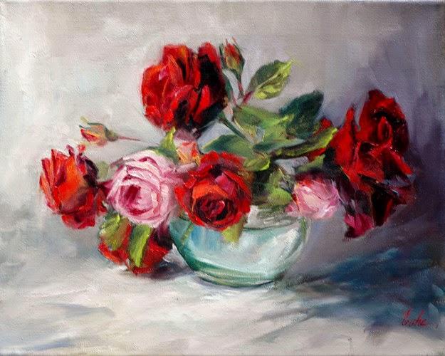 Les Peintures D Evhe Les Premieres Roses
