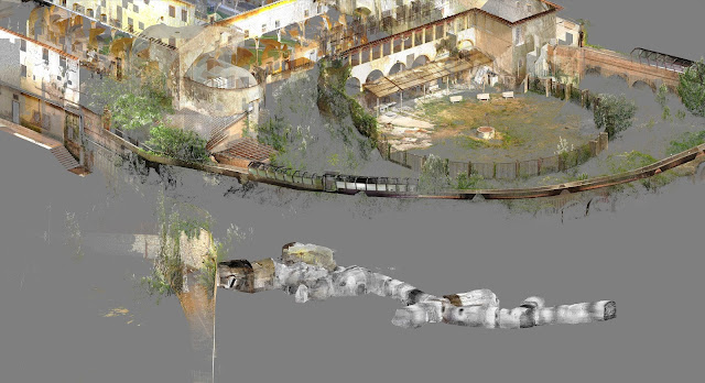 "studio associato perigeo, jrc 3d reconstructor, complex ""convent & prison of S. Domenico buildings"" S.Gimignano, Siena (IT)"