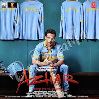 Azhar CD FRont Cover Poster Wallpaper