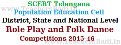 Role Play,Folk Dance Competitions,District State National Level