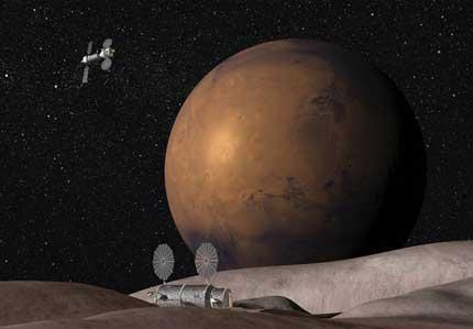 Comunidad en Marte