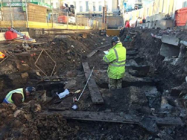 Medieval artefacts found under 900 year old rubbish dump in Newcastle