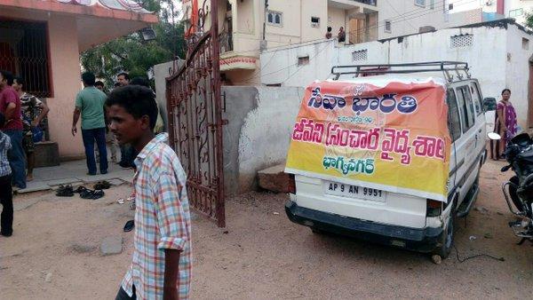 Sevabharathi Medical Camp for urban poor   Sevabharathi Telangana