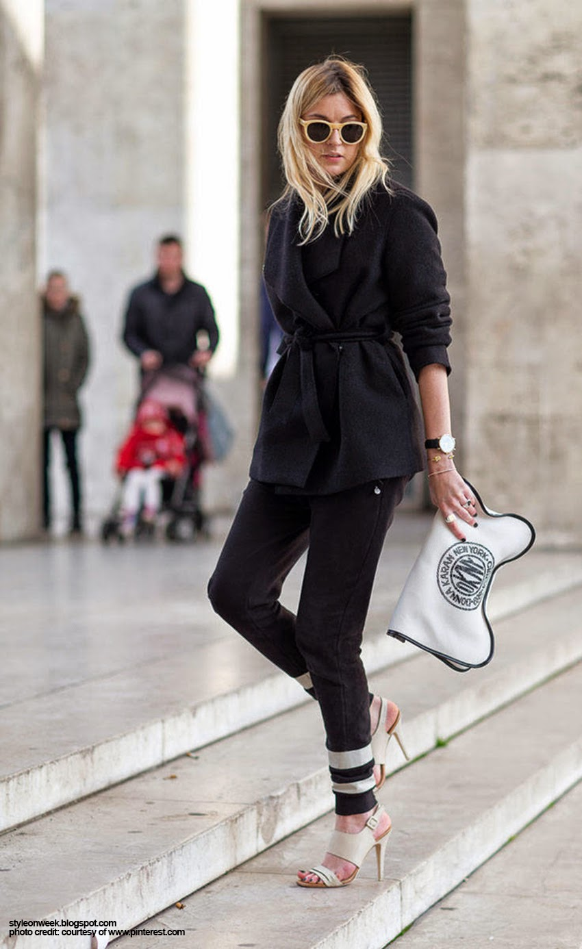 Street Style Inspiration - Camille Charriere Look Eye Catching in Simplicity