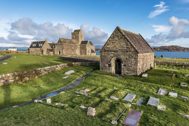 St Columba's Iona 'hut' radiocarbon dated