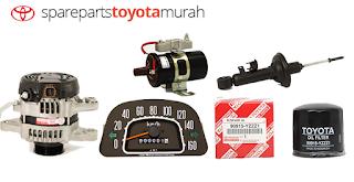 Harga Resmi Spart Part Mobil Toyota
