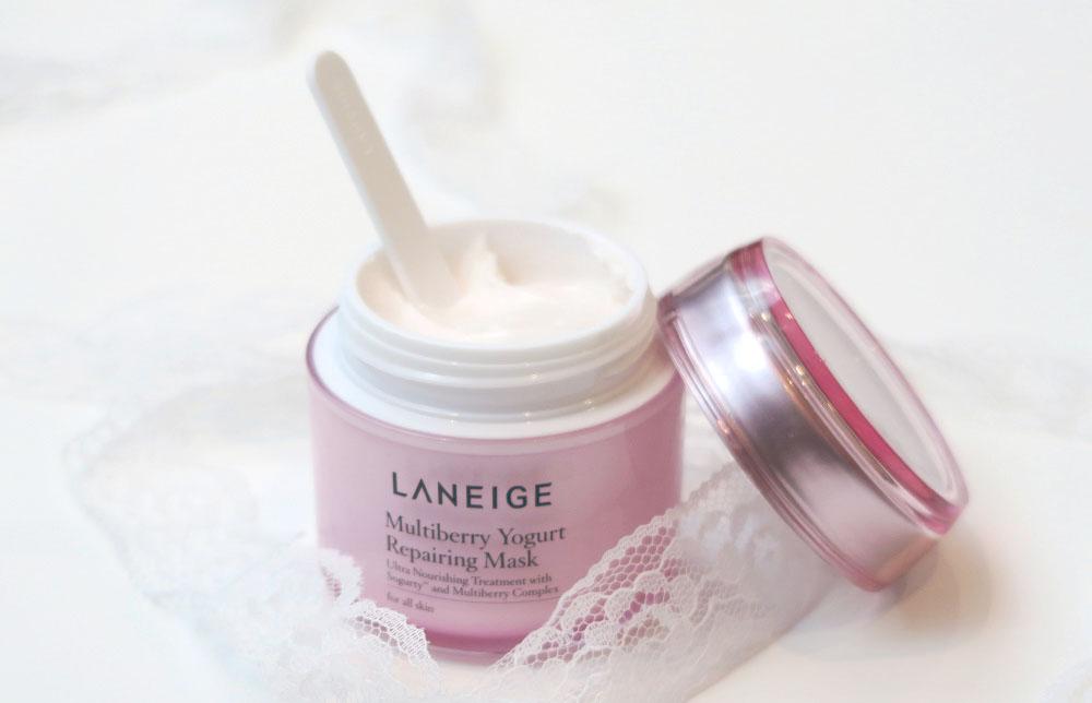 Review: Laneige Multiberry Yogurt Repairing Mask