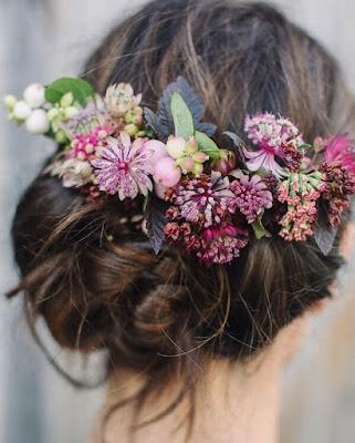 K'Mich Wedding - wedding planning - floral crown