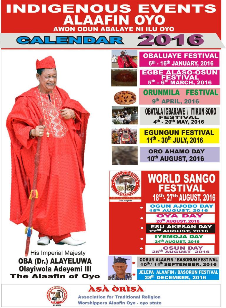 Yoruba Festivals