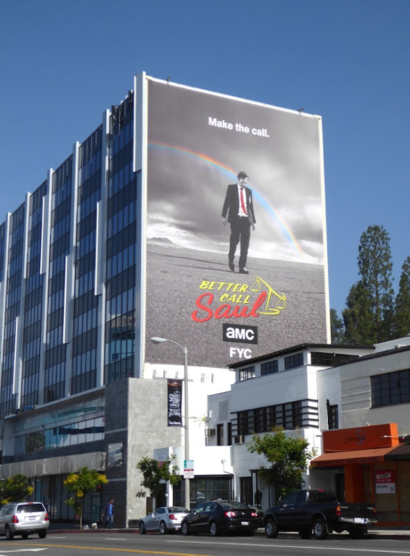 Giant Better Call Saul season 2 Emmy FYC billboard