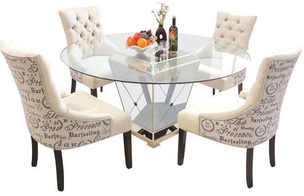 Elegant White Dinette Sets