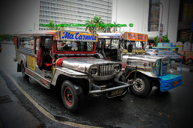 Jeepney, Makati, Manila, Philippines
