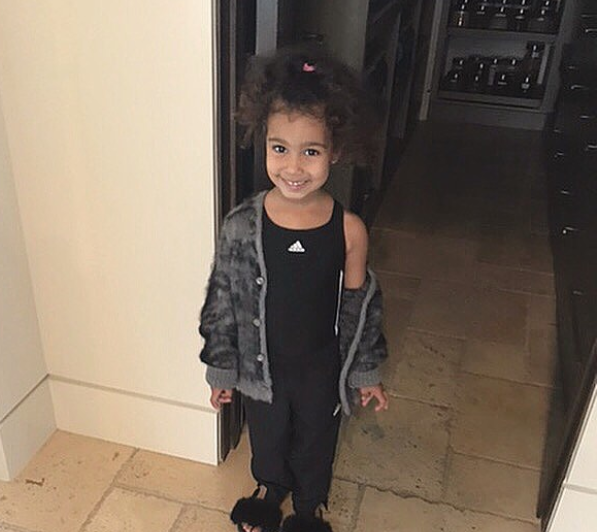 See this adorable new photo of North West