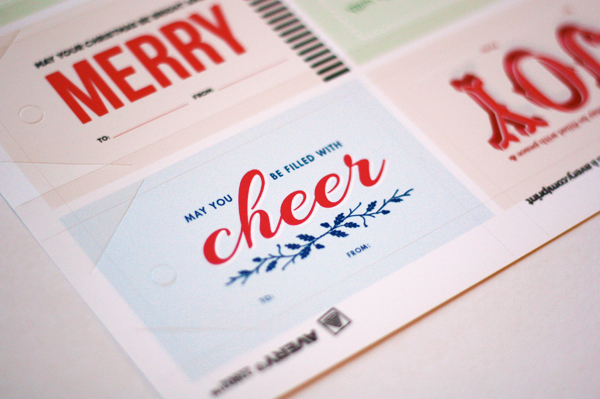 avery gift tags
