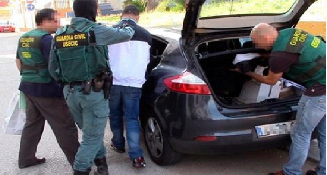 الشرطة الإسبانية تعتقل مغربيا مبحوث عنه في فرنسا