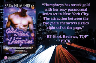 Excerpt: The Good, the Bad, and the Vampire by Sara Humphreys