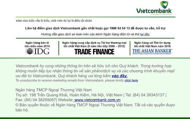 """Website Vietcombank """"bị hack"""" ngày 13/4: Do cán bộ kỹ thuật sơ suất"""
