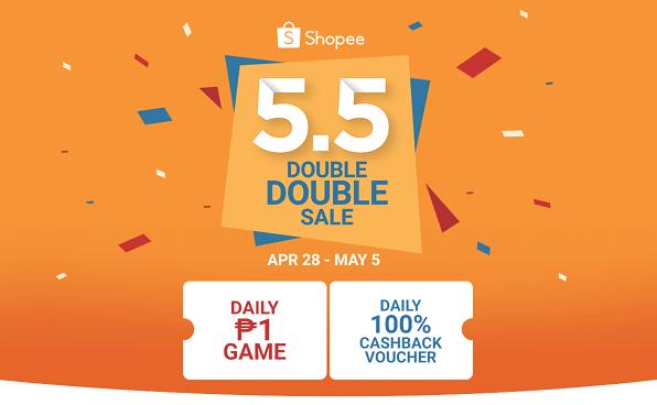 Shopee 5.5 Double Double Sale
