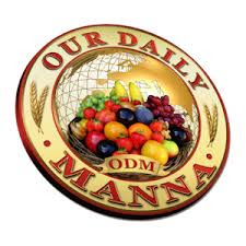 Our Daily Manna October 1, 2017: ODM devotional