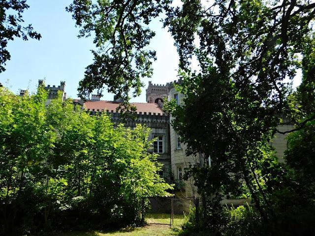 pałac, Kurnatowski, goscieszyn, park
