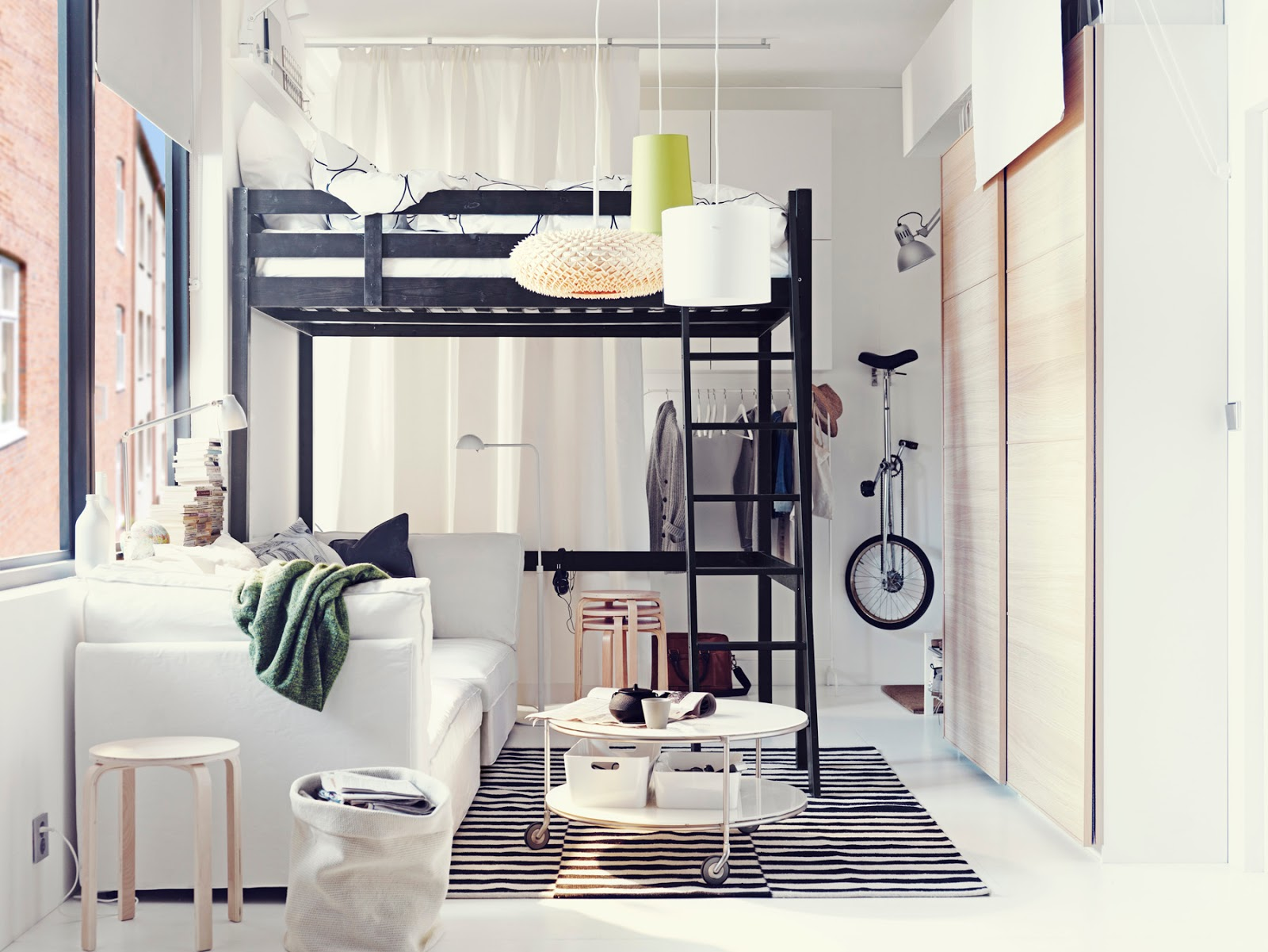Dormitorios juveniles para espacio pequeño  Dormitorios colores y