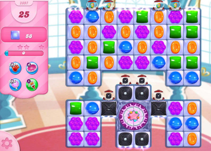 Candy Crush Saga level 2897