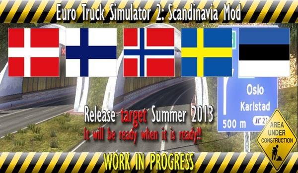 ETS 2 Scandinavia Mod