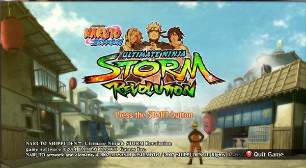 Membuka seluruh karakter Ultimate Ninja Storm Revolution
