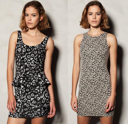 vestidos pull and bear otoño invierno 2012 2013
