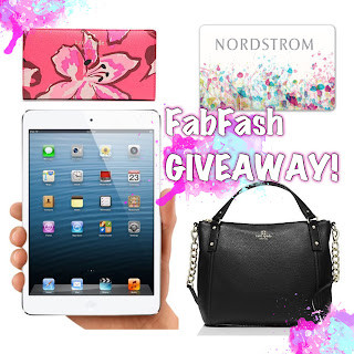 Enter the FabFash Giveaway. Ends 11/13