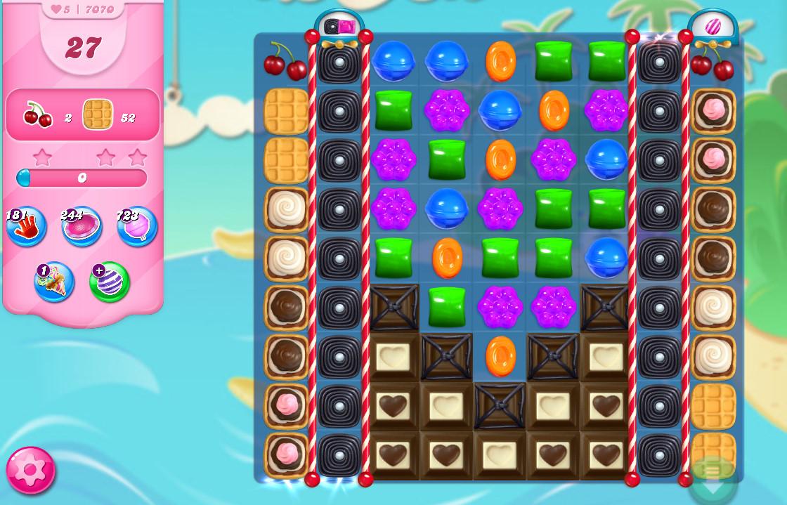 Candy Crush Saga level 7070