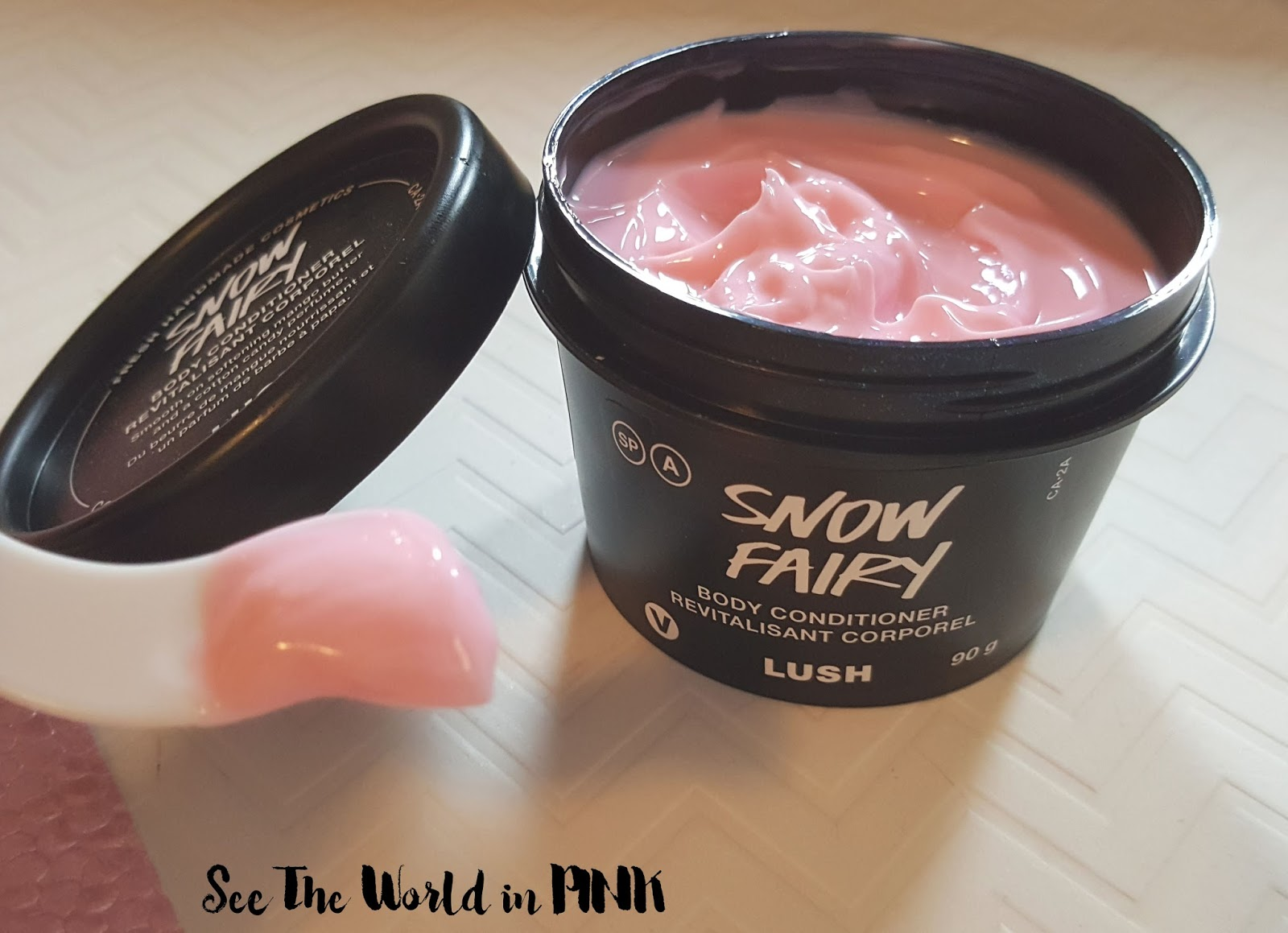 Skincare Sunday - Lush Snow Fairy Body Conditioner