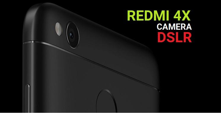 Cara Mengubah Kamera Redmi 4X Menjadi DSLR