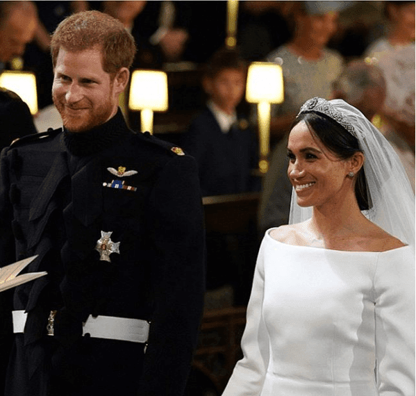 Luxury Makeup Prince Harry And Meghan's evening wedding Photos And Her Gorgeous Makeup Look