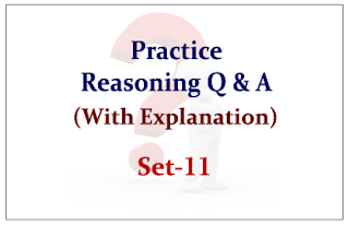 Practice Reasoning Questions (with explanation) for Upcoming Bank PO and Clerk Exams 2015 Set-11
