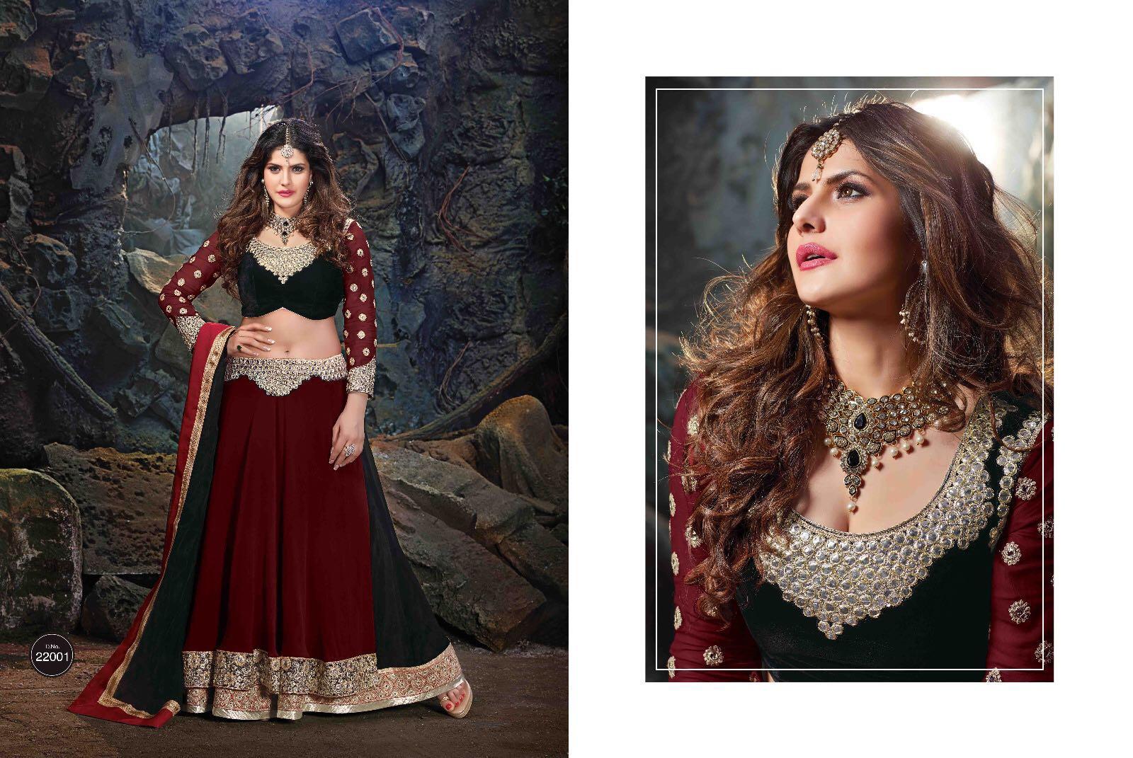 1bdbf4b6c1 Bridal Vol 2 - Zarin Khan Looking Stunning In This Lehenga Choli ...