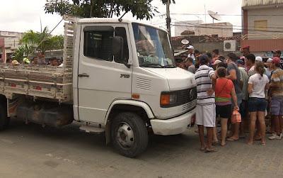 Idoso de 93 anos morre atropelado por caminhão em Queimadas