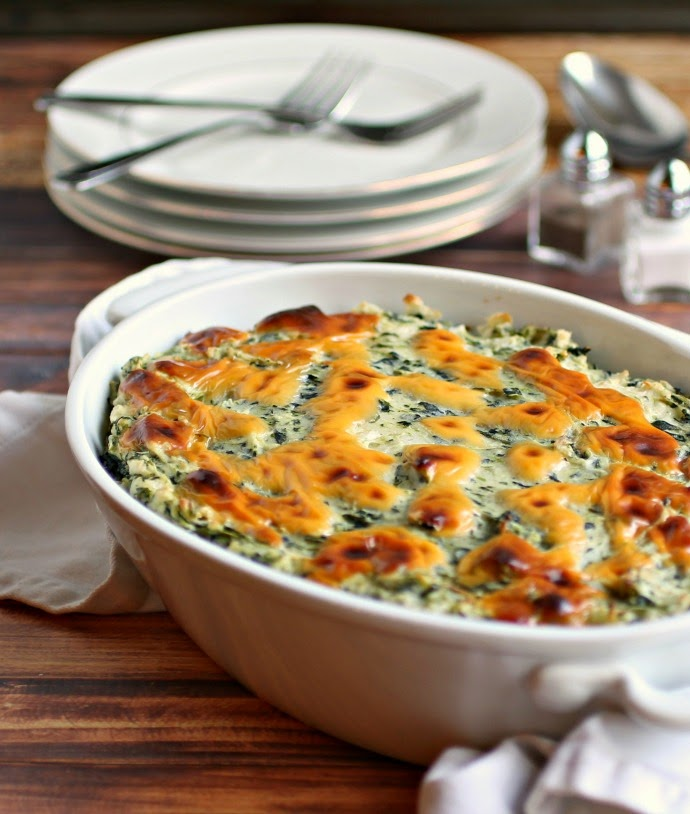 Spinach Colcannon Bake