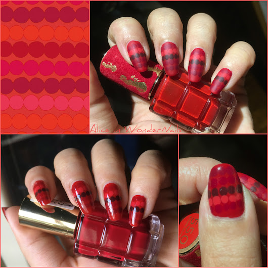 Alice in WonderNails: NAILS: Pattern Wednesday #201