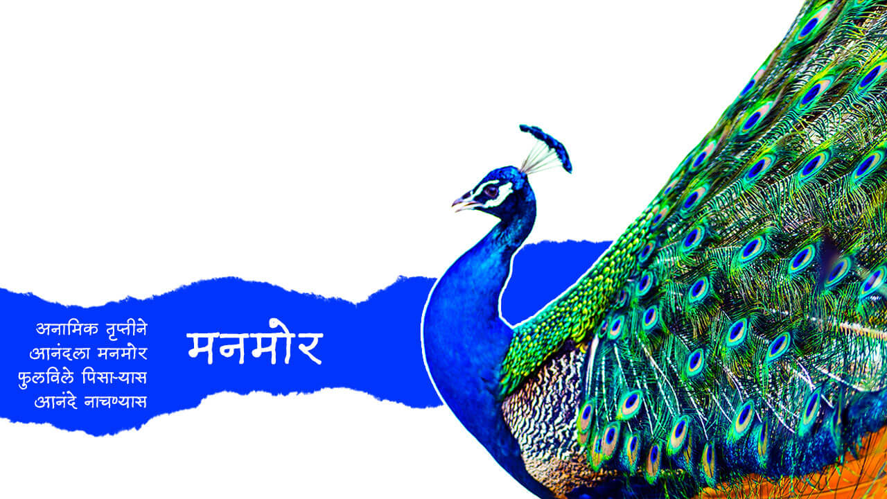 मनमोर - मराठी कविता | Manmor - Marathi Kavita