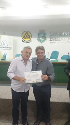 Agentes de trânsito de Ipueiras participam de curso de capacitação em Fortaleza