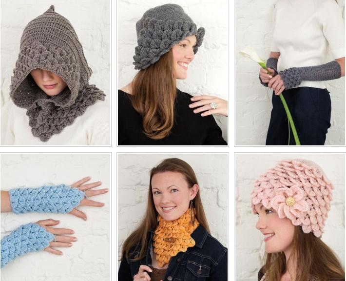 punto cocodrilo, crochet puntos, patrones para crochet