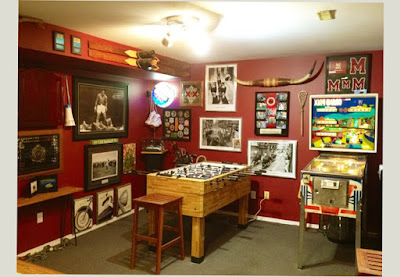 Basement Man Cave Design Ideas With Other Beautiful Painting Picture
