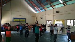 DPW PKS Sulawesi Utara Latih Trainer Senam Nusantara