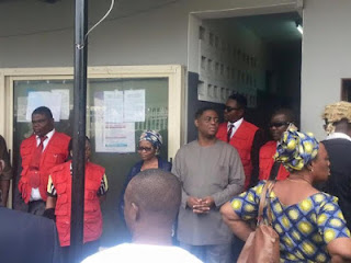 EFCC arraign Femi Fani-Kayode and Nenadi Usman