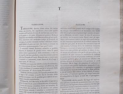 Enciclopedia legale - anno 1838 - libri antichi - annunci