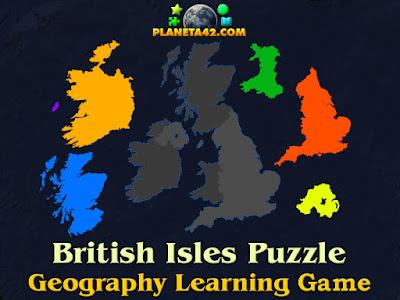 British Isles Puzzle