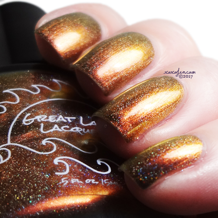 xoxoJen's swatch of Great Lakes Lacquer: Copper Harbor