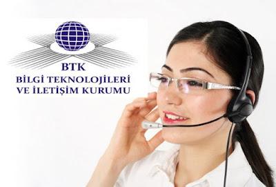Bilgi Teknolojileri ve İletişim Kurumu (BTK) Bilgi ve İhbar Merkezi'nin numaraları değişti